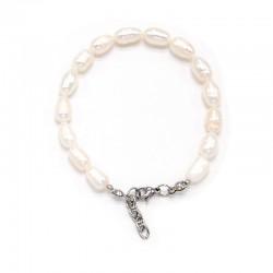 Náramek z Říčních perel 7 x 11 cm