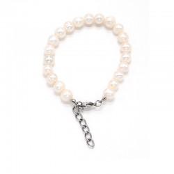 Náramek z Říčních perel 7 - 9 cm