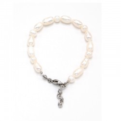 Náramek z Říčních perel 7 a 7 x 10 cm