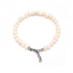 Náramek z Říčních perel 6 -7 mm