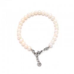 Náramek z Říčních perel 7 mm
