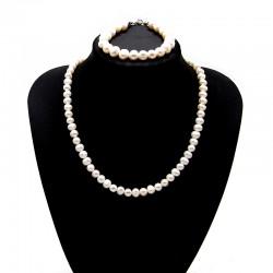 Souprava z Říčních perel 7 - 9 mm