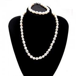 Souprava z Říčních perel 9 x 11 mm