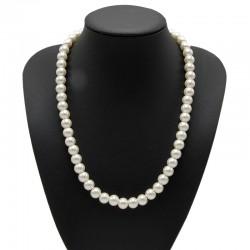 Náhrdelník z voskových perel 53 cm